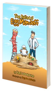 The Ballad of Egg Man Jeff 3D book cover